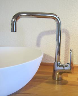 """Moderne Hohe Bad Waschtisch Armatur """"Rio"""""""