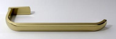 Handtuchhalter 30cm Messing gold glänzend
