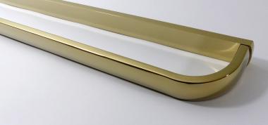 Handtuchstange 60cm Messing gold glänzend