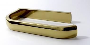 Toilettenpapierhalter Messing gold glänzend