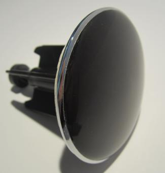 Waschbeckenstöpsel Abflussstöpsel Stöpsel SCHWARZ XL