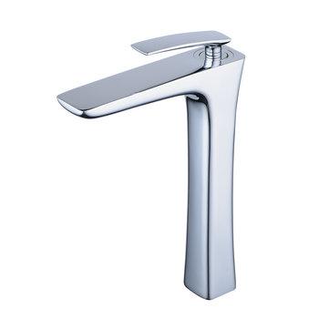Nero Badshop | Hohe Bad Waschtisch Armatur für Aufsatz ...