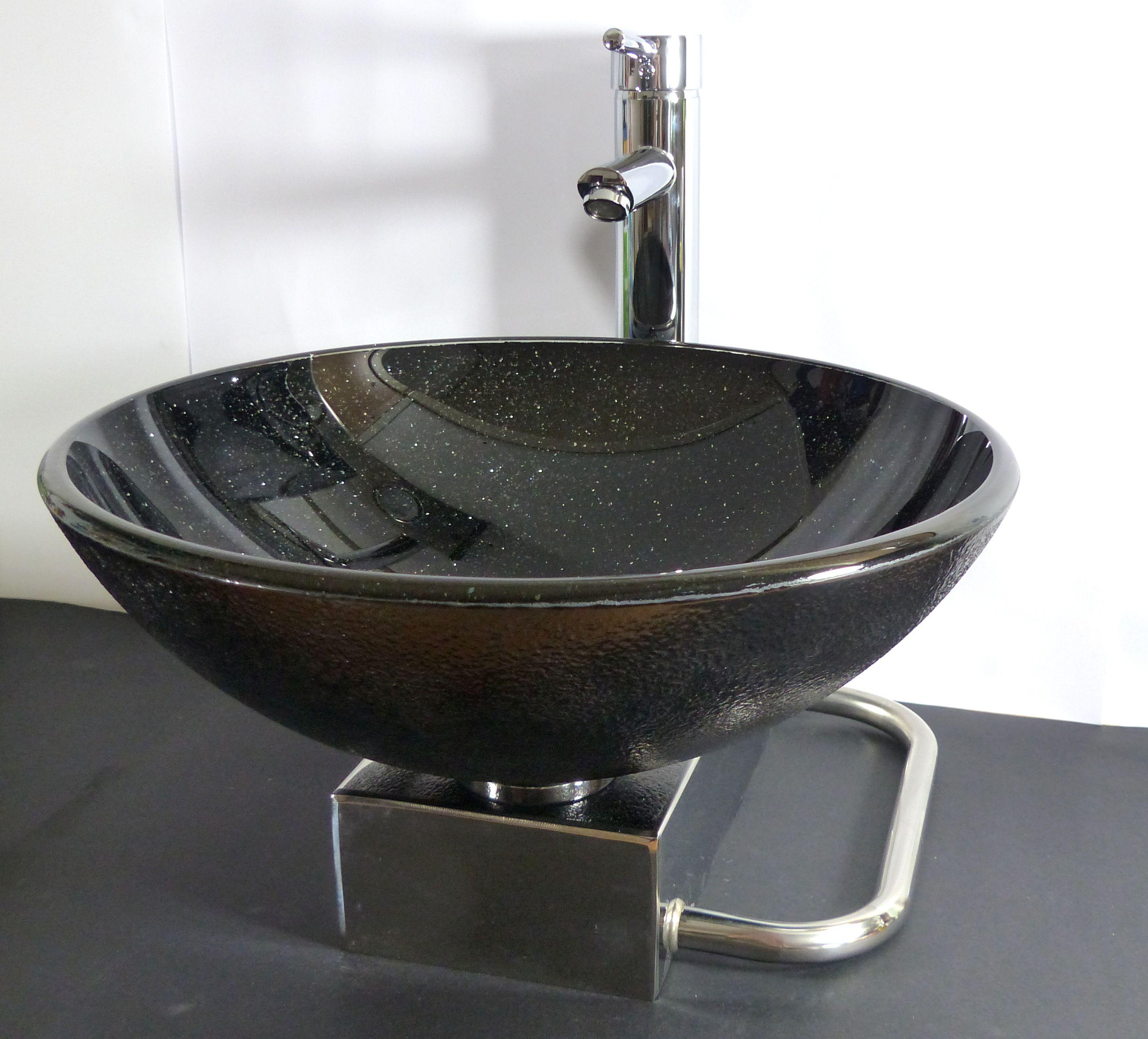 Nero Badshop | Badmöbel Set Waschtisch inkl. Waschbecken +Armatur ...