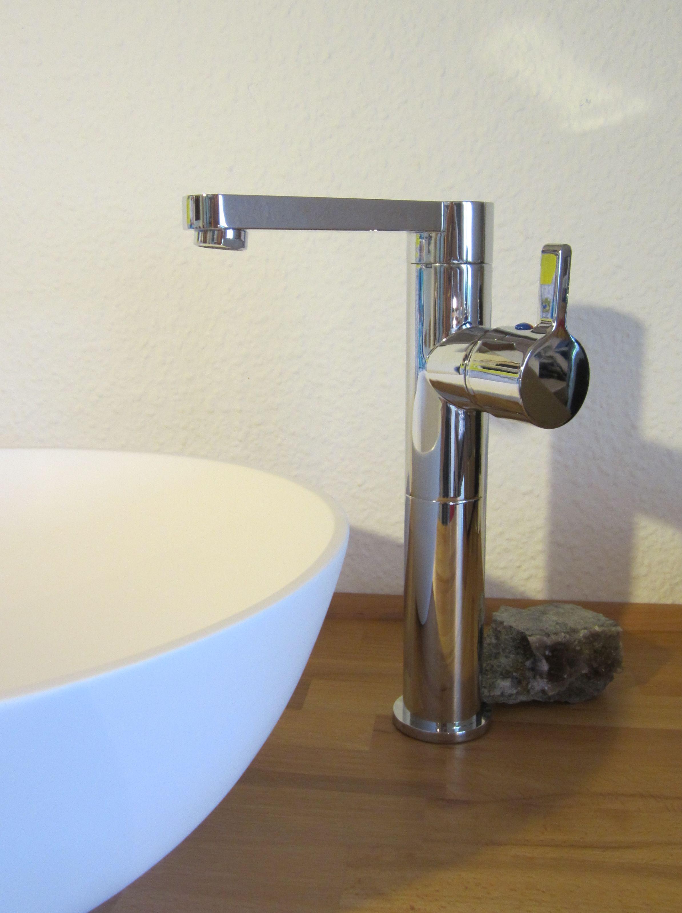 Nero Badshop   Bad Waschtisch Armatur Aufsatz Waschbecken \