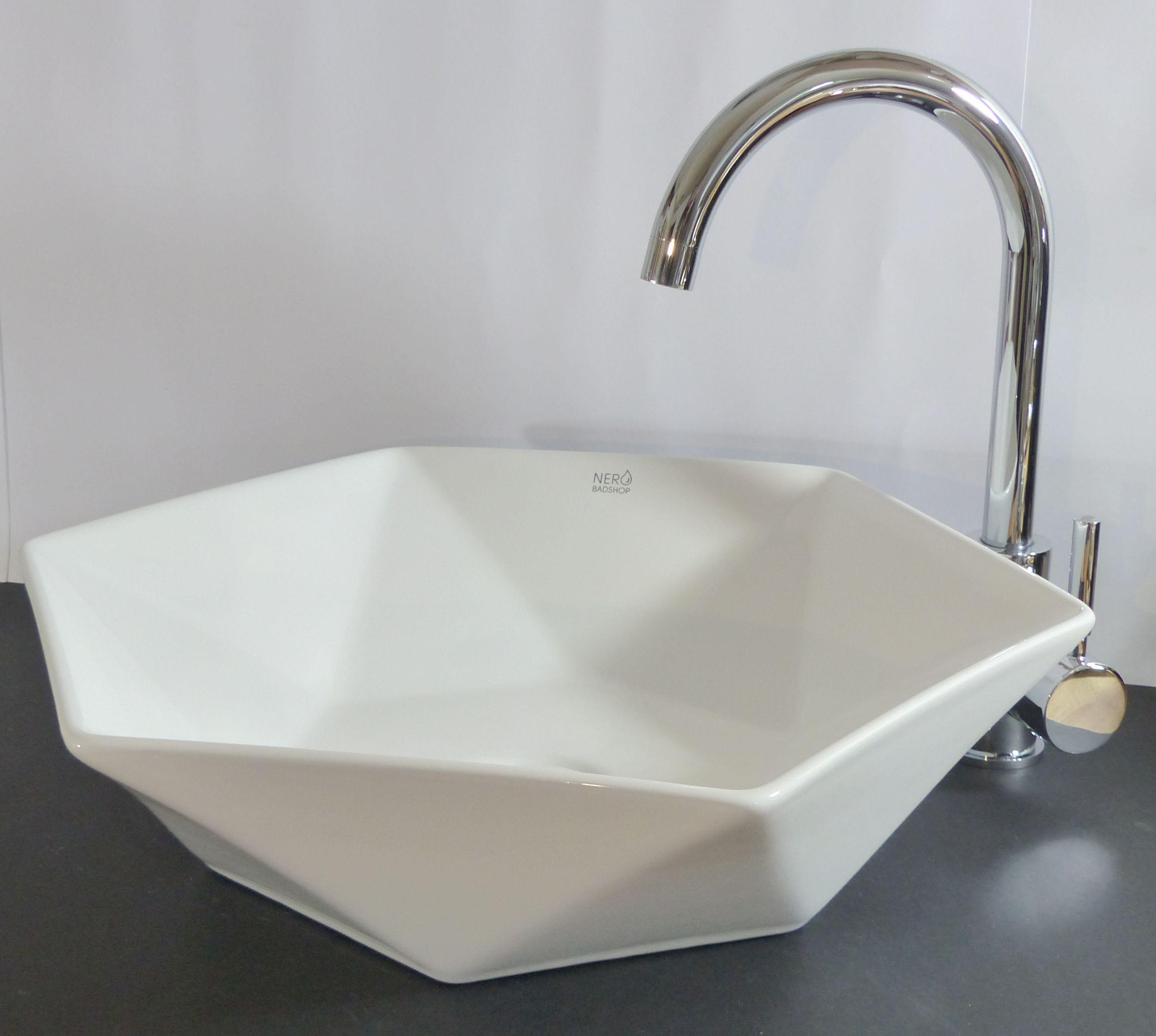 Waschbecken rund  Nero Badshop | Keramik Aufsatz Waschbecken rund eckig | online kaufen