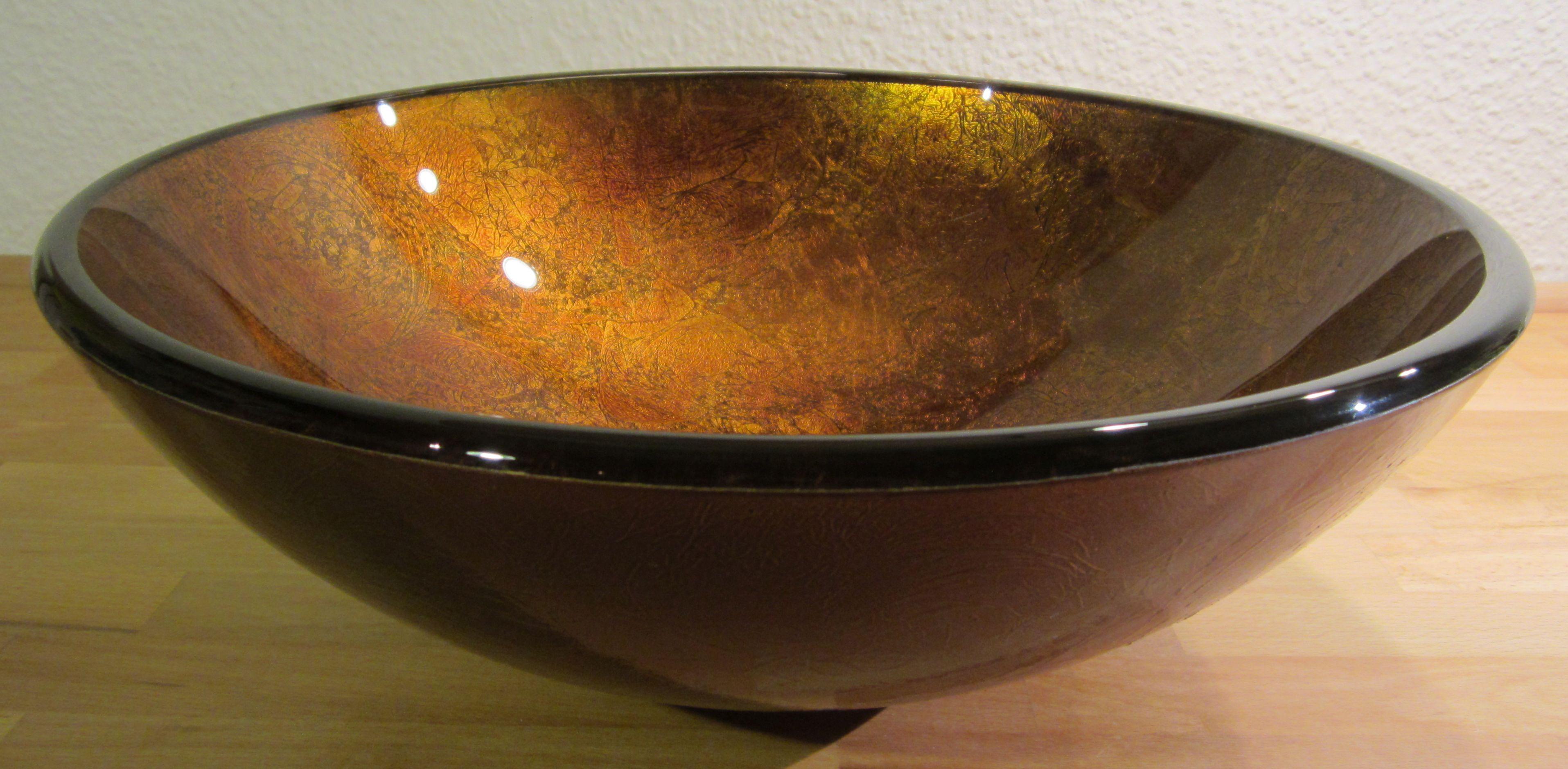 Waschbecken rund glas  Nero Badshop | Aufsatz Glas Waschbecken