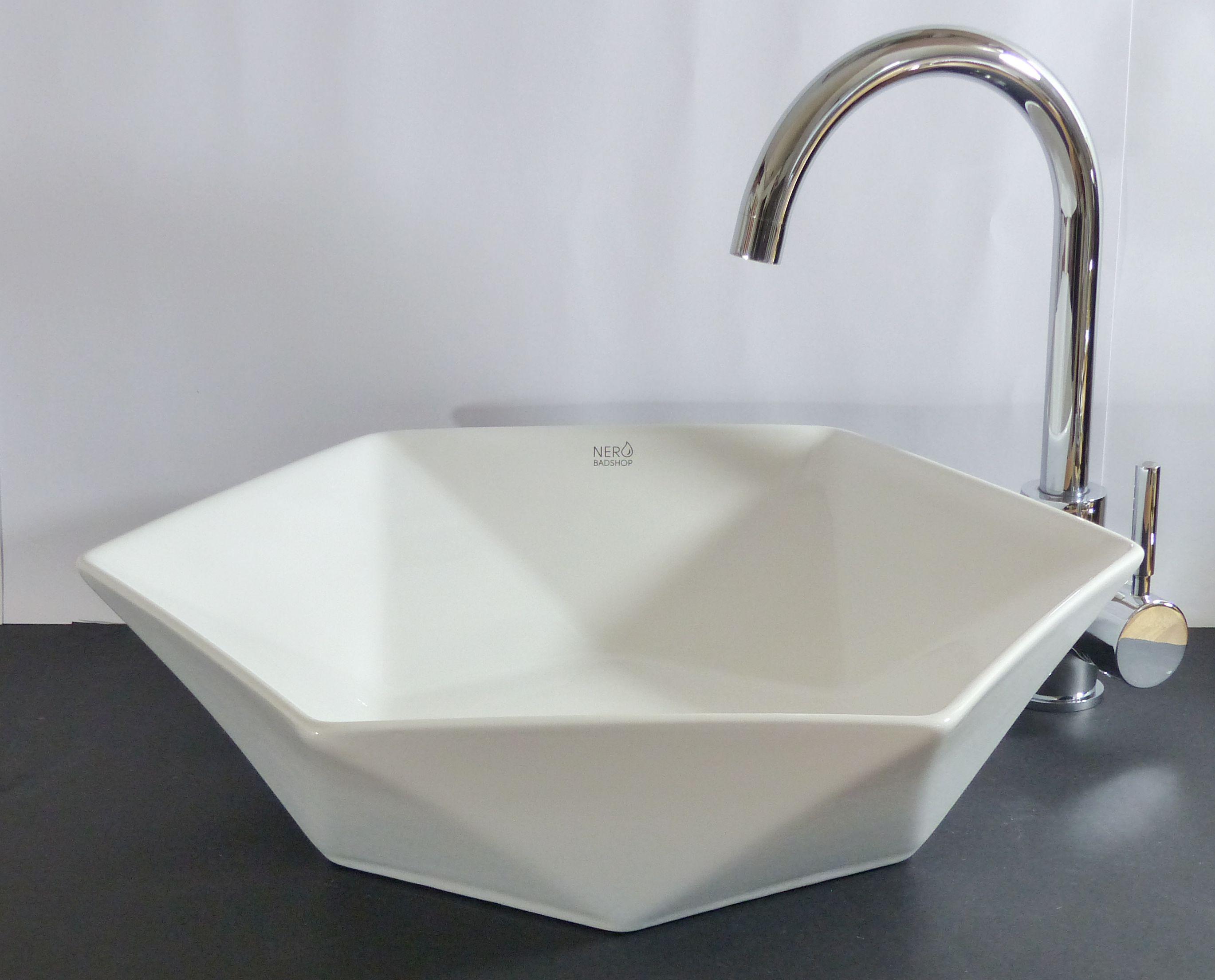nero badshop keramik aufsatz waschbecken rund eckig online kaufen. Black Bedroom Furniture Sets. Home Design Ideas