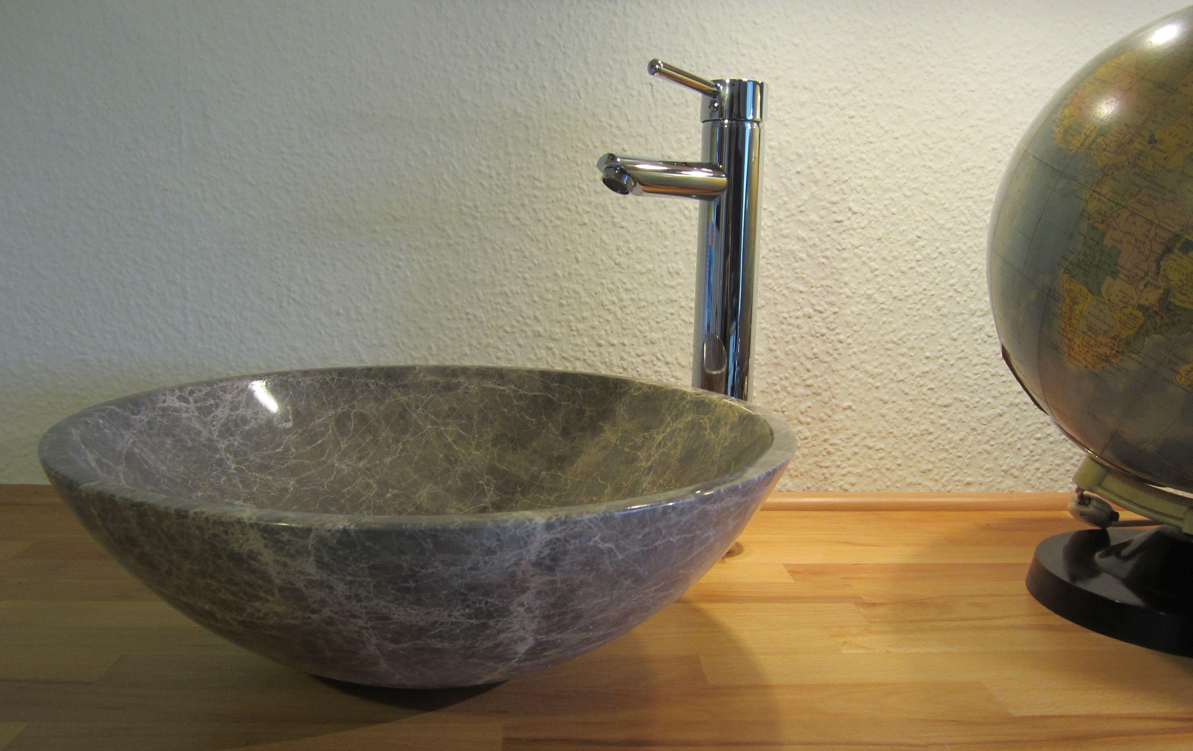 Waschbecken rund stein  Waschbecken Rund Aufsatz | gispatcher.com